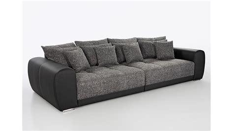 big sofa sam polstermoebel xxl sofa  schwarz grau  cm