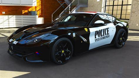 police ferrari forza motorsport 5 ferrari f12 police car forza 5