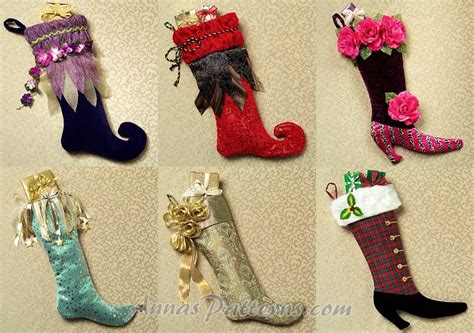 free pattern for victorian christmas stocking christmas stocking pattern shabby victorian curled toe