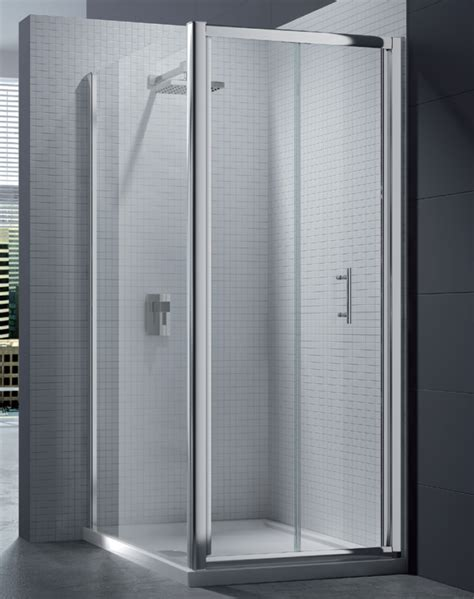 Merlyn 6 Series 4mm Clear Glass Bi Fold Shower Door 760 800mm Shower Door 760