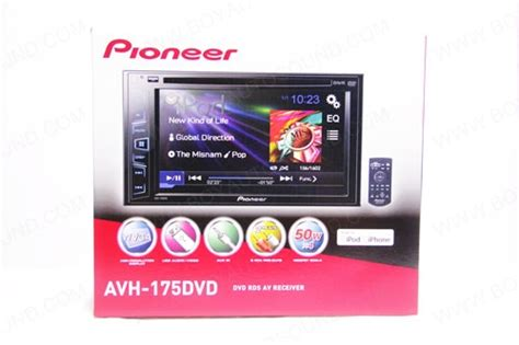 review pioneer avh 175dvd unit tv mobil dan speaker