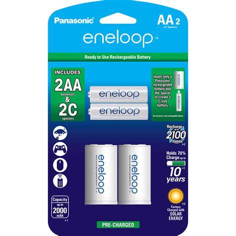 Charger Panasonic Eneloop 2 Hours Eneloop Pro 2500mah Isi 4 panasonic eneloop rechargeable aa ni mh batteries k kjs2mca2ba