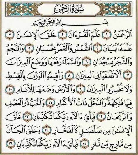 Alquran Arrohman allah always knows surah ar rahman tafsir surah ar rahman
