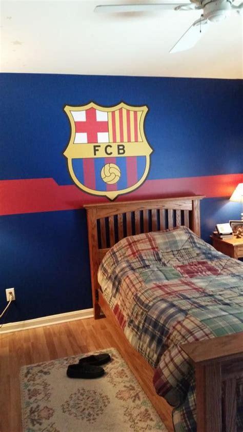 barcelona fc wallpaper for bedroom fc barcelona crest soccer bedroom and bedrooms on la liga