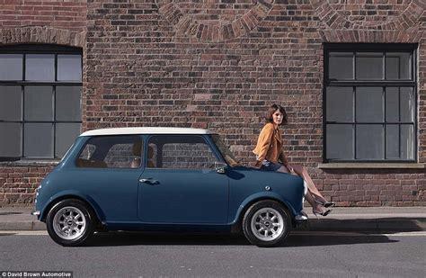 Clasic Mini Black K mini remastered creates new classic shape cars for 163 75k daily mail
