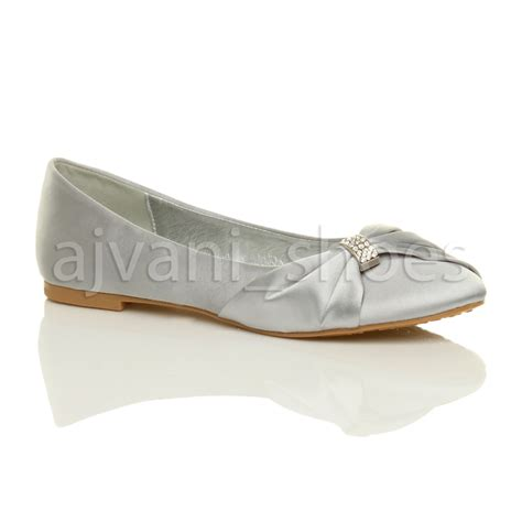 womens wedding shoes flats womens wedding bridal evening ballerina ballet