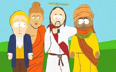 Clip Karakter 201 the simpsons support south park writers in mohammed