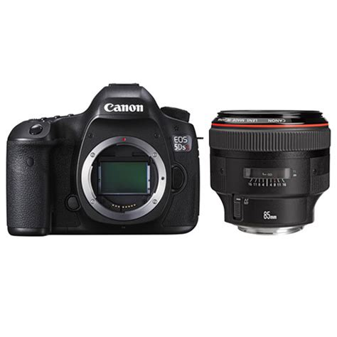 Canon Eos 5ds R Dslr Only canon eos 5ds r dslr with ef 85mm f 1 2l ii lens