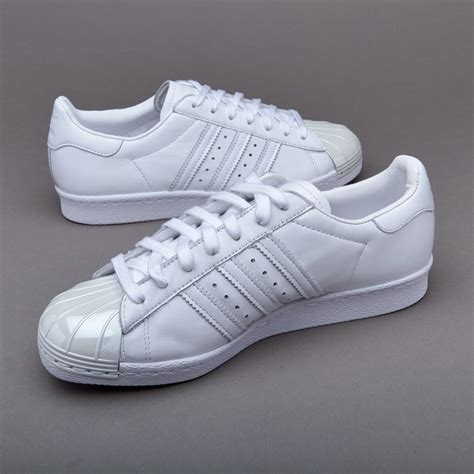 Adidas Superstar 80s Metal Toe White adidas zx flux adidas superstar 80s metal toe ftwr white womens shoes the newest cheap