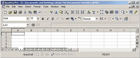 Corel Spreadsheet by Choose The Right Spreadsheet Excel Xp Quattro Pro 9 Or