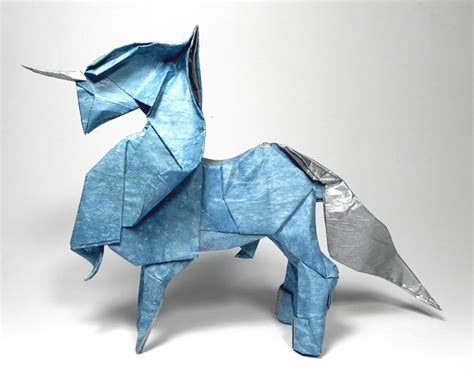 Origami Unicorn Diagram - unbelievably unforgettable and unique origami unicorns