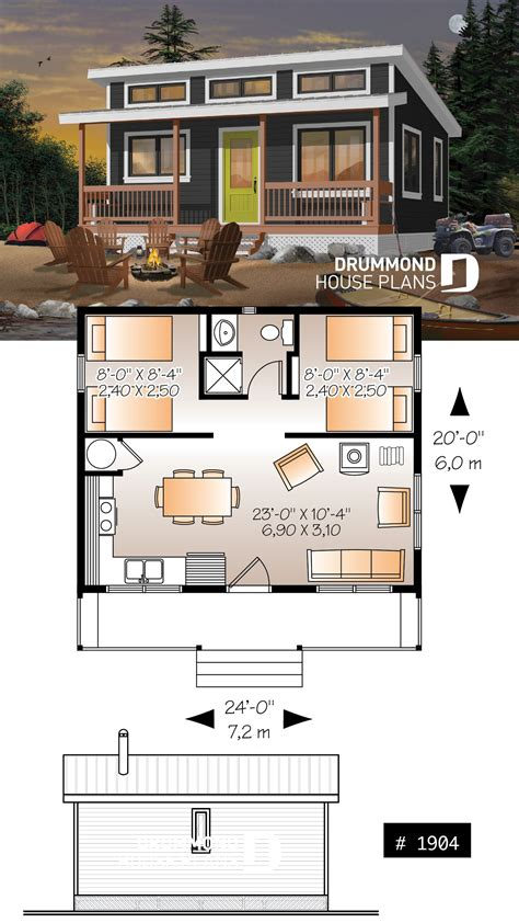 Small House Plans With Wood Stove
