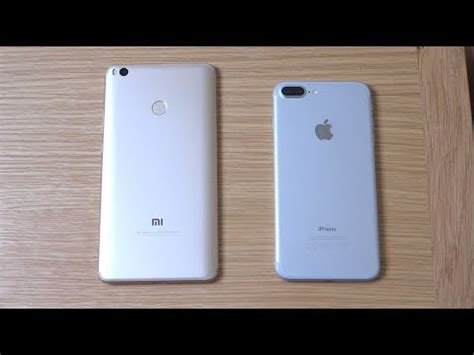 xiaomi mi max 2 vs iphone 7 plus ios 11 beta 2 which is fastest