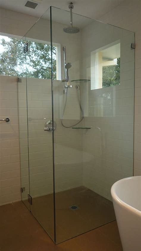 Custom Cut Shower Glass by 1000 Ideas About Shower Screen On Bath Shower