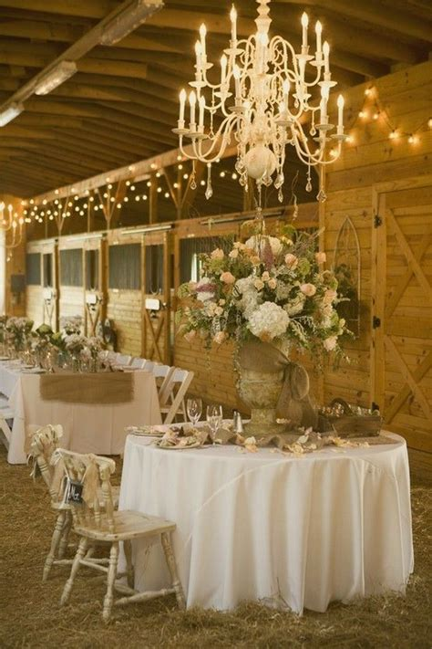 shabby chic barn wedding reception barn weddings we