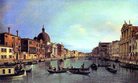 canaletto ottica venice the reaches of the grand canal with s