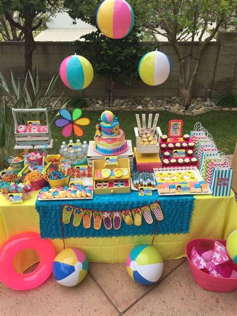 summer decorations best 25 summer birthday parties ideas on pinterest
