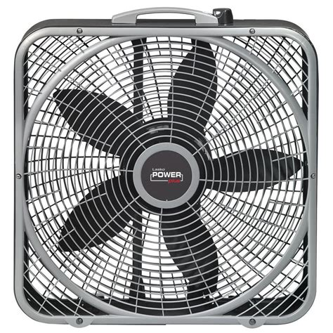 lasko 20 box fan lasko 20 in power plus box fan b20540 the home depot