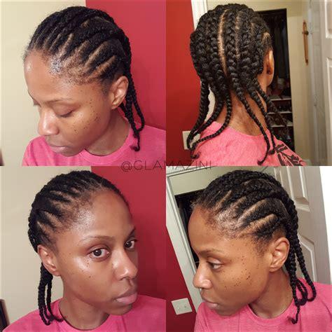 self braiding crochet braids with freetress kinky bohemian hair video