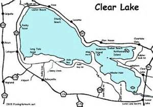 clear lake map california clear lake info and map