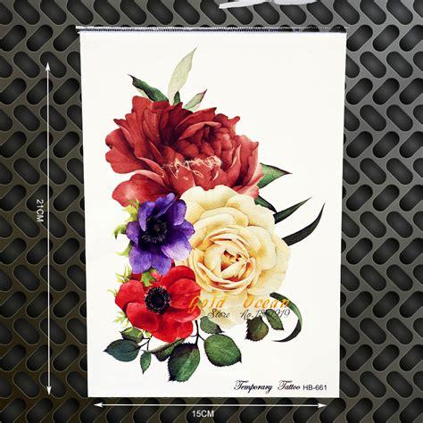 tattoo mawar wanita online buy grosir putih mawar tato from china putih mawar