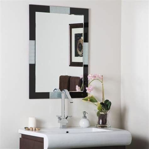 bathroom wall mirrors frameless frameless bathroom wall mirror decor ideasdecor ideas