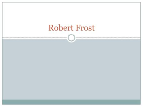 themes in design by robert frost robert frost