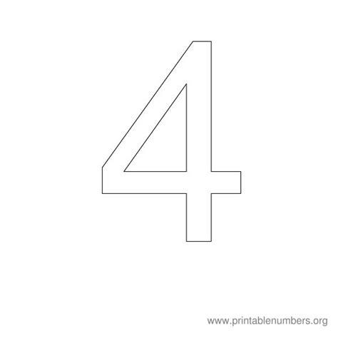 printable block number stencils best photos of printable block numbers 1 10 free