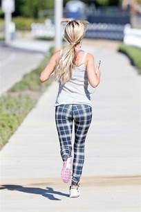christina el moussa christina el moussa out jogging in orange county 06 13