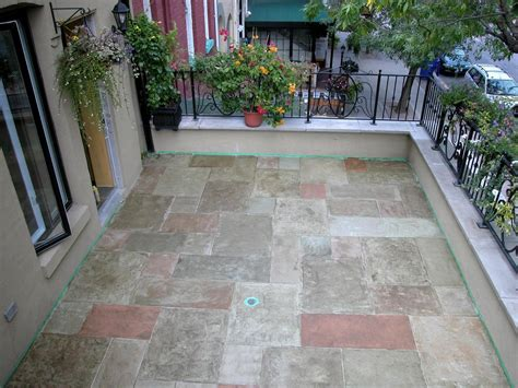 sted concrete patio designs pictures staining concrete