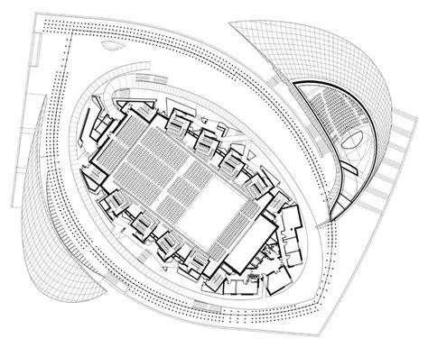 Music Studio Floor Plan la philharmonie luxembourg building e architect