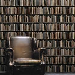 Charmant Salon De Jardin Bois Leroy Merlin #4: papier-peint-intisse-biblio-multicouleur.jpg