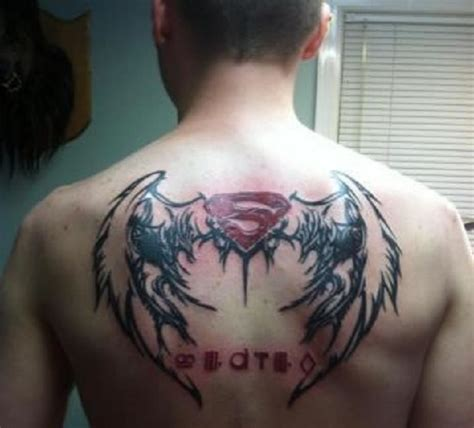 superman tattoo on chest superman chest www pixshark images