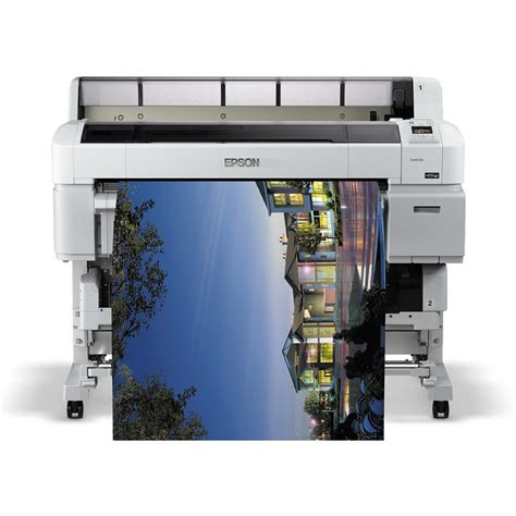 Printer A0 Epson epson surecolor sc t5200 a0 colour large format printer c11cd67301a0