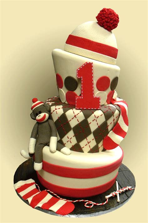 a sock monkey cake southern blue celebrations sock monkey foods ideas for birthday and baby showers