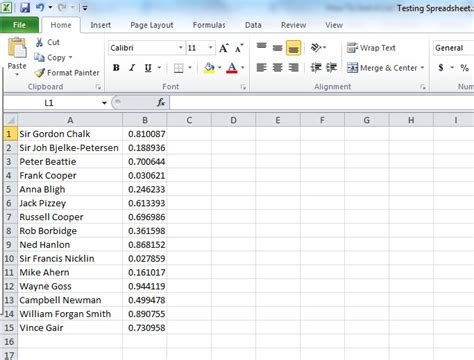 how to sort a list randomly in excel lifehacker australia
