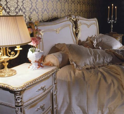 louis bedroom classic louis xvi bedroom bed and night table in carved