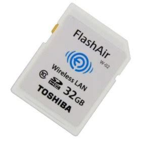 Termurah Toshiba Flash Air Wireless Sd Card Class 10 32gb Sd toshiba flash air wireless sd card class 10 32gb thn nw03w0320c6 white jakartanotebook