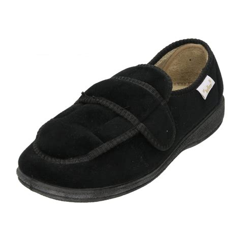 slippers boots dr keller velcro fastening slipper shoes soft