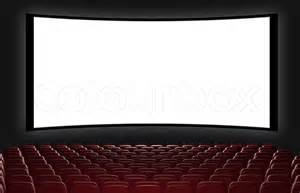 An Audience Of Chairs Cinema Auditorium 3d Rendering View On The Screen