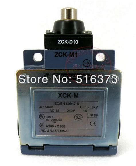Limit Switch Xck M121 schneider telemecanique xck m zck d10 ac15 240v 3 xck m zck d10