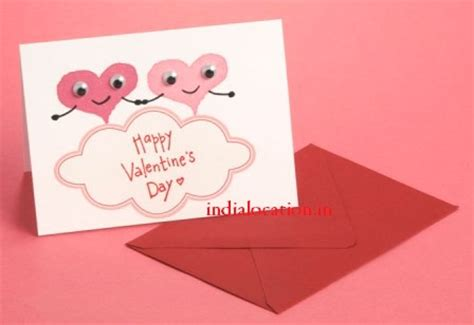 make a valentines day card easy handmade s day card happy s day
