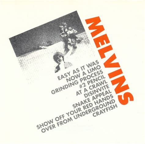 Cd Melvins Your Choice Live Series Import church of zer melvins