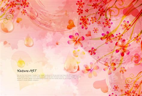 romantic flower background vector vector flower free vector free romantic floral pattern background vector design 5 free