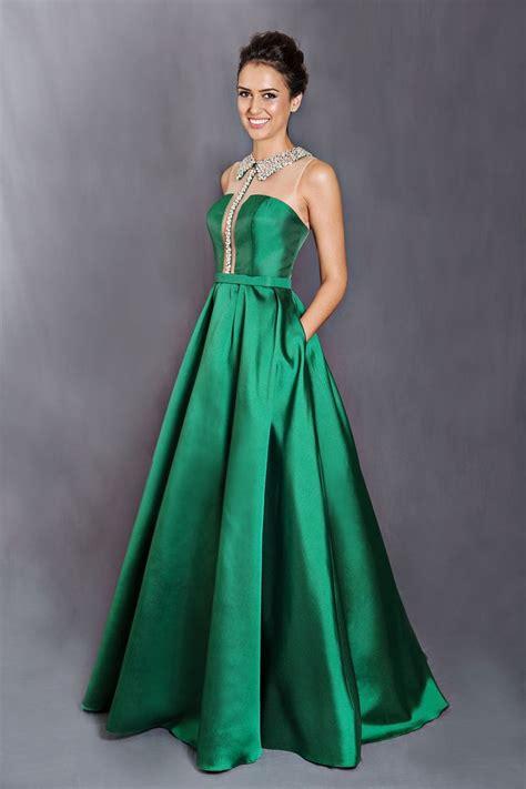 imagenes vestidos verdes vestido longo verde modelos