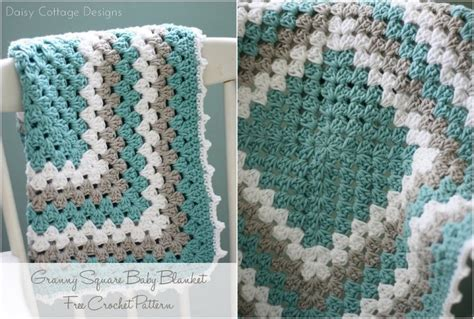 Squares Baby Blanket by Free Square Baby Blanket Patterns Craftsy