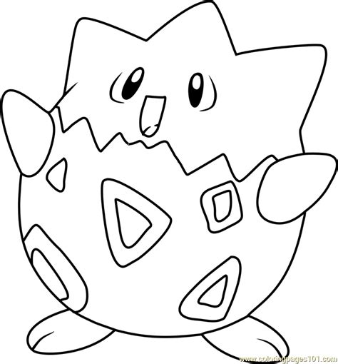 togepi pokemon coloring page free pok 233 mon coloring pages