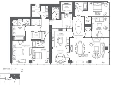 ritz carlton floor plans floorplan the newbury c o the residences at ritz carlton