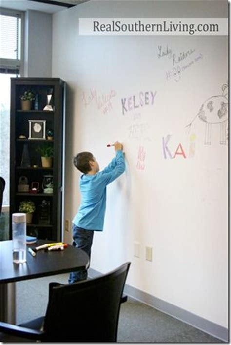 7 office wall decor ideas and options white board wall in work or home office whiteboardpaint