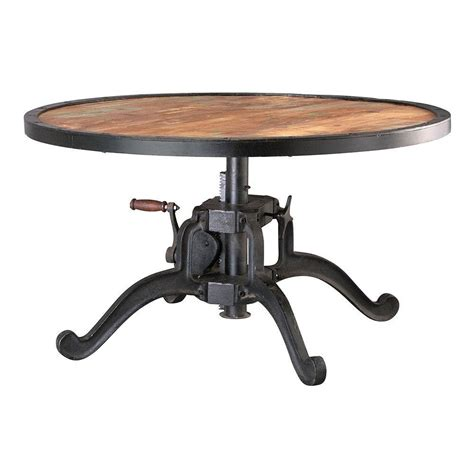 gallery height image gallery industrial adjustable height table